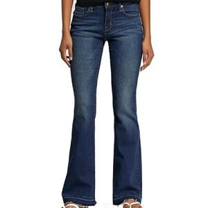 NWT. Mossimo flip-flop flare jeans
